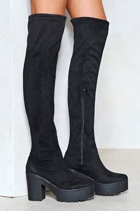 Nasty Gal We Knee'd These Thigh-High Boot