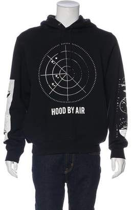 Hood by Air Airplane Graphic Print Hoodie
