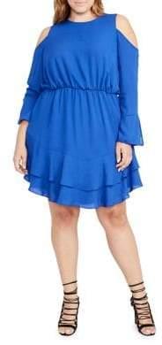 Rachel Roy Plus Coco Carmine Dress