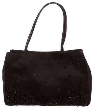 Anya Hindmarch Satin Embellished Bag