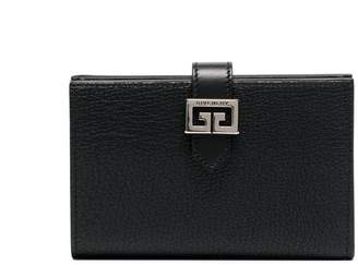 Givenchy Black GV3 medium wallet