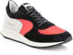 Philippe Model Montecarlo Leather Patchwork Sneakers