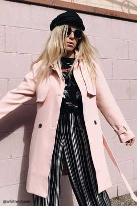 FOREVER 21+ Belted Trench Coat $37.90 thestylecure.com
