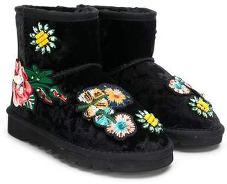 Colors of California Kids embellished snow boots