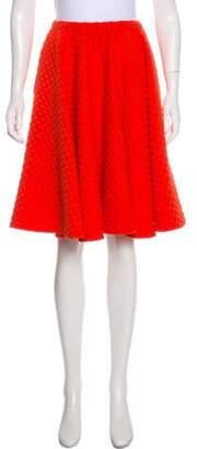 ARTHUR ARBESSER Textured A-Line Skirt Textured A-Line Skirt