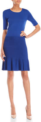 Armani Collezioni Ribbed Skirt Dress