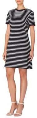 Catherine Malandrino City Stripe Clem Striped A-Line Dress