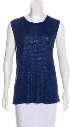 Sheri Bodell Embellished Sleeveless Top