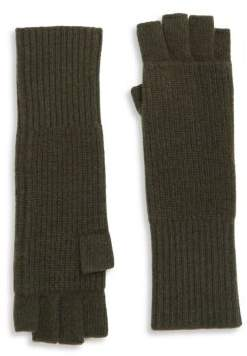 Portolano Ribbed Cashmere Gloves