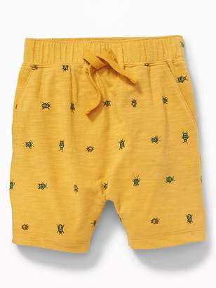 Old Navy Printed Slub-Knit Shorts for Toddler Boys