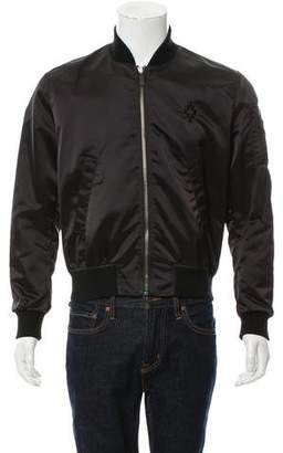 Marcelo Burlon County of Milan Embroidered Lightweight Jacket