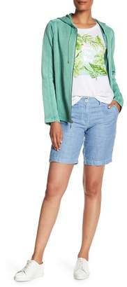 Tommy Bahama Sea Glass Linen Bermuda Shorts