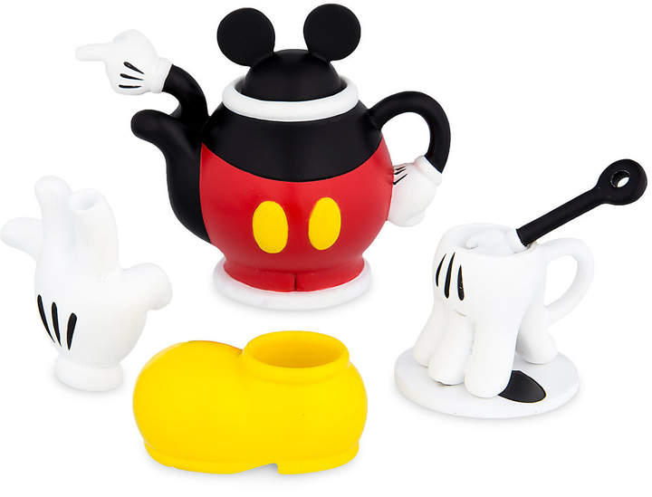 Mickey and Minnie Mouse Decorative Mini Tea Set