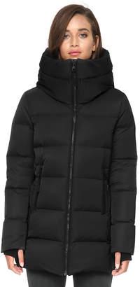 Soia & Kyo RACHELLE sporty down jacket with oversized hood