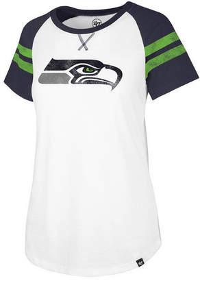 '47 Women's Seattle Seahawks Flyout Raglan T-Shirt