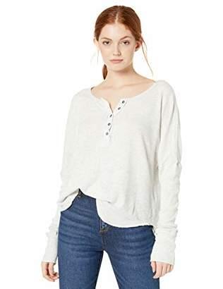 Billabong Women's Long Sleeve Knit Shirt,S