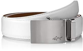Greg Norman Men's Optimum Comfort Fit Adjustable Ratchet Belt