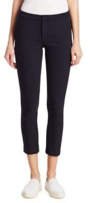 Vince Cropped Stove Pipe Trousers