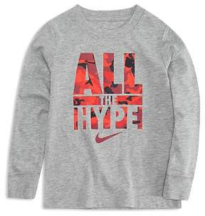 Nike Boys' All the Hype Long-Sleeve Tee - Little Kid