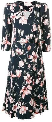 Goat Glenda floral wrap dress
