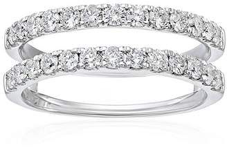14k Gold Diamond Solitaire Enhancer Ring (1cttw