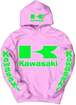 Kawasaki Logo Hoodie, 4XL