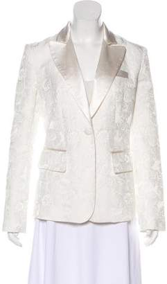 Co Jacquard Notch-Lapel Blazer w/ Tags