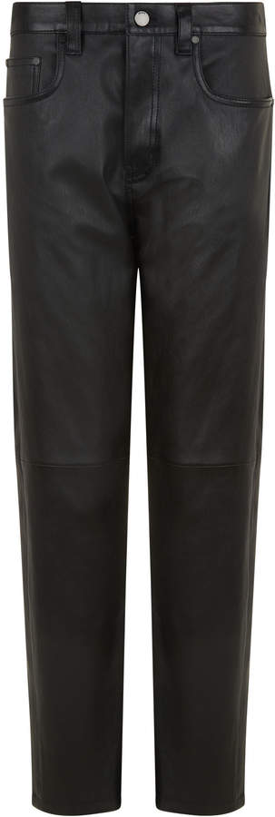 Kemp Stretch Leather Trousers