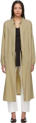Y's Ys Beige Surgical Gown Coat