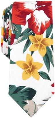 Bar III Men Bartlett Skinny Floral Tie