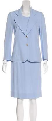 Sonia Rykiel Crepe Three-Piece Skirt Suit