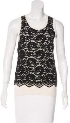 Dolce & Gabbana Cashmere-Blend Sleeveless Top