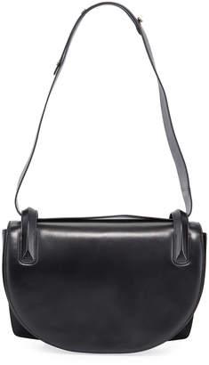 Rodo Flap Top Lamb Leather Shoulder Bag