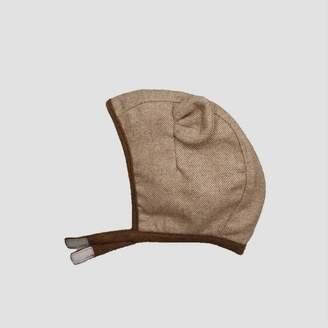 Cat & Jack Baby Bear Critter Bonnet Hat Brown