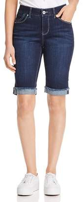 Jag Jeans Nina Denim Bermuda Shorts in Night Breeze