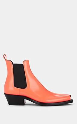 Calvin Klein Men's Western Chris Leather Chelsea Boots