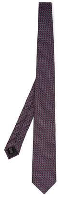 Ermenegildo Zegna Circular-embroidered silk tie