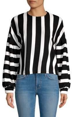 Colorblock Striped Sweater
