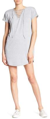 Cotton On & Co Urban Lace-Up T-Shirt Dress