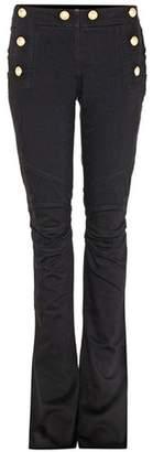 Balmain Distressed flared jeans