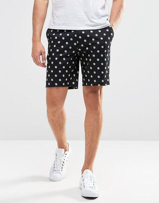 ASOS Skinny Tailored Shorts In Polka Dot $41 thestylecure.com