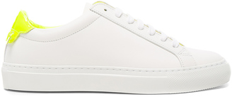 Givenchy Leather Urban Street Low Sneakers $495 thestylecure.com