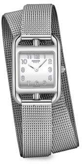 Hermes Cape Cod Stainless Steel Bracelet Watch