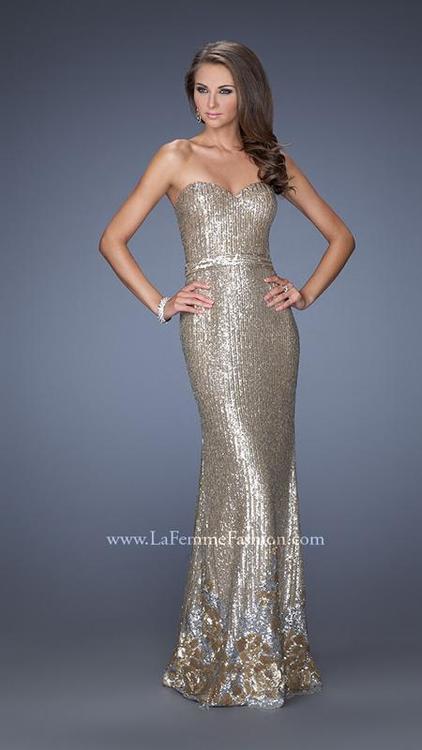 Full Length Sequin Dress - ShopStyle Australia