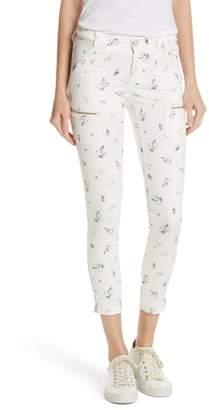 Joie Park Floral Skinny Cargo Pants