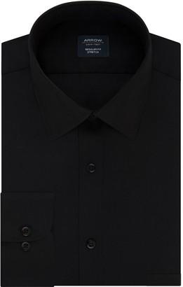 Arrow Men's Slim-Fit Stretch Spread-Collar Dress Shirt