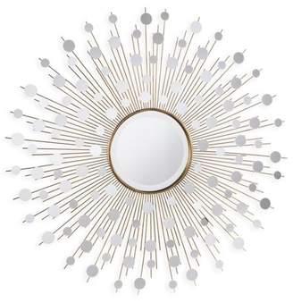 Southern Enterprises Stratos Glam Starburst Wall Mirror, Gold