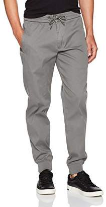Armani Jeans Men's Stretch Cotton Jogger with Drawstring