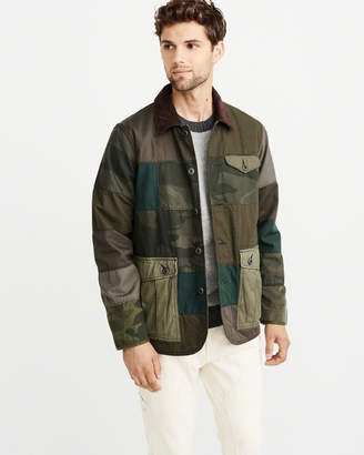 Abercrombie & Fitch Patchwork Safari Jacket