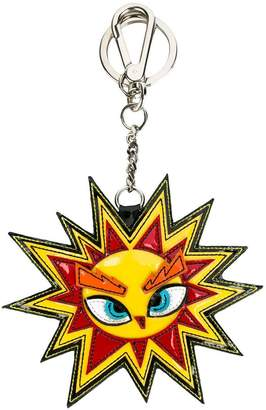 DSQUARED2 sun shaped keyring